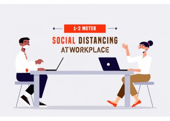 A Guide To Social Distancing In The Workplace
