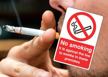 A guide on how to control smoking around your workplace with signs
