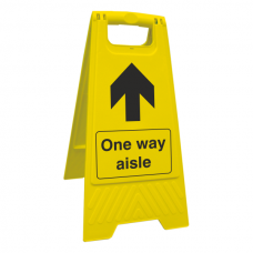 Social Distancing - One Way Aisle Floor Stand