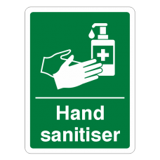 Hand Sanitiser Sign