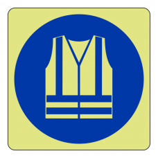 Photoluminescent High Visibility Clothing Sign (logo)