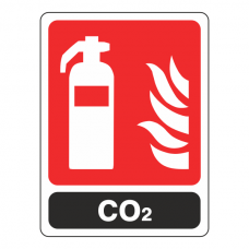 General CO2 Extinguisher Sign