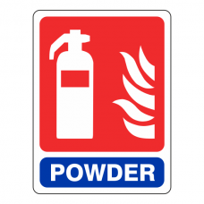 General Powder Extinguisher Sign