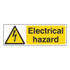 Danger Electrical Hazard Sign (Landscape)