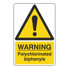 Warning Polychlorinated Biphenyls Sign