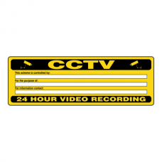 CCTV - This Scheme Is Controlled By Security Sign (Landscape)