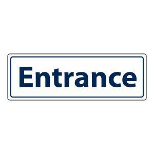 Entrance Sign (Landscape)