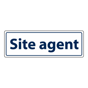 Site Agent Sign (Landscape)