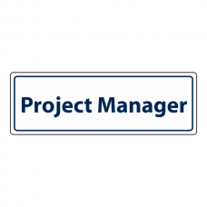 Project Manager Sign (Landscape)