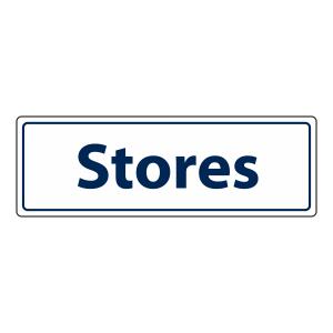 Stores Sign (Landscape)