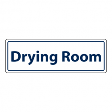 Drying Room Sign (Landscape)