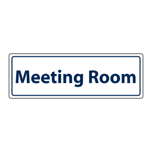 Meeting Room Sign (Landscape)