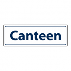Canteen Sign (Landscape)