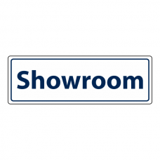 Showroom Sign (Landscape)