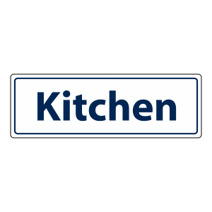 Kitchen Sign (Landscape)