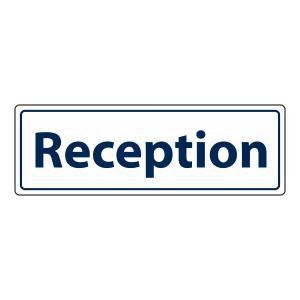 Reception Sign (Landscape)