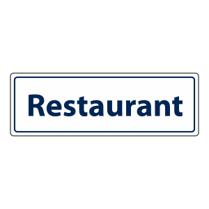 Restaurant Sign (Landscape)