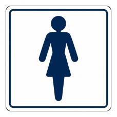 Ladies Toilet Sign (Square)