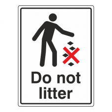 Do Not Litter General Sign
