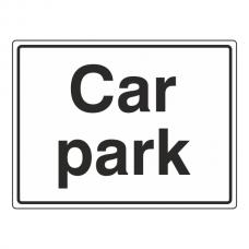 Car Park Sign (Large Landscape)