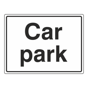 Car Park Sign (Large Landscape)