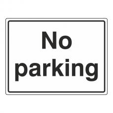 No Parking General Sign (Large Landscape)