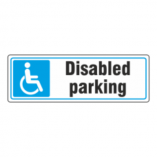 Parking - Disabled Parking Sign (Landscape)
