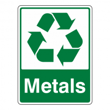 Metals Recycle Sign