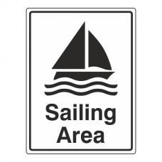 Sailing Area Sign