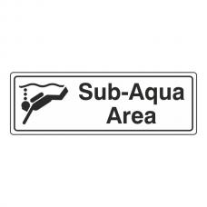 Sub-Aqua Area Sign (Landscape)