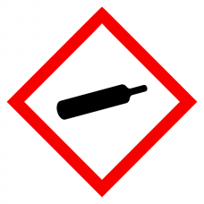 Gases Under Pressure - CLP Sign (COSHH)