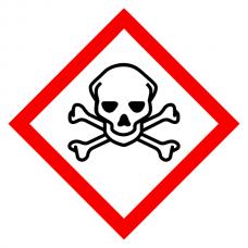 Toxic - CLP Sign (COSHH)
