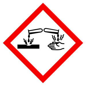 Corrosive - CLP Sign (COSHH)