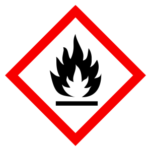 Flammable - CLP Sign (COSHH)