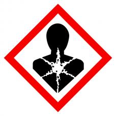 Longer Term Health Hazard - CLP Sign (COSHH)