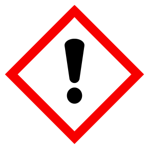 Caution - CLP Sign (COSHH)