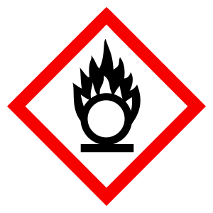 Oxidizing - CLP Sign (COSHH)