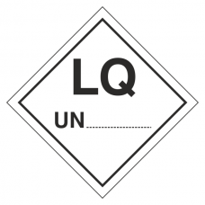 LQ UN Hazard Warning Label