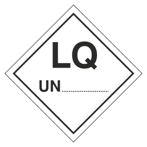 LQ UN Hazard Warning Label