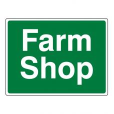 Farm Shop Sign (Large Landscape)