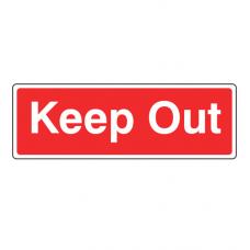 Keep Out Farm Sign (Landscape)