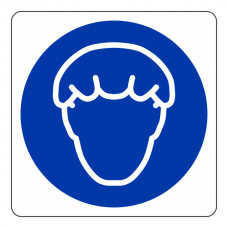 Wear Hairnet Sign (Square)