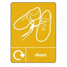 Shoes Recycling Sign (WRAP)