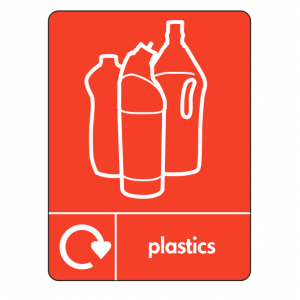 Plastics Recycling Sign (WRAP)