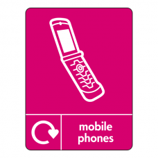 Mobile Phones Recycling Sign (WRAP)