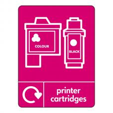 Printer Cartridges Recycling Sign (WRAP)