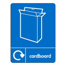 Cardboard Recycling Sign (WRAP)