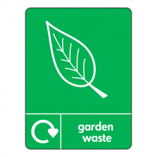 Garden Waste Recycling Sign (WRAP)