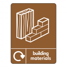 Building Materials Recycling Sign (WRAP)