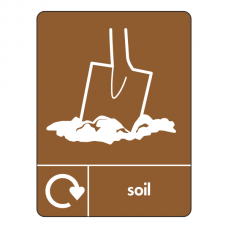 Soil Recycling Sign (WRAP)